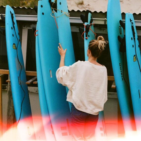 surfschool-materiaal