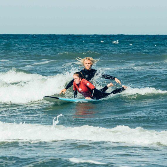 surfles noordzee